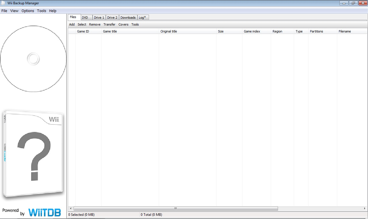 wii backup manager 0.4.5 build 78 gratuit
